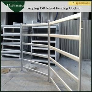 Livestock Horse / Cattle Corral Panels , Low Carbon Steel Metal Corral Fencing