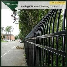 Customized Steel Picket Fence For Residential And Commercial Industrial Use