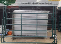 China 5′ X 96″ Portable Livestock Pens Livestock Panels With Rounded Corners And Legs company