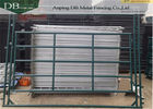 China Green 12ft X 5ft Livestock Pen Panels , Portable Corral Panels For Horse / Cattle company