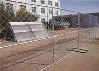 Temporary Chain Link Panel Fence Free Standing With 6 Feet Height