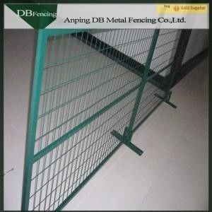 Outdoor Temporary Security Fencing For Sporting Events / Major Public Site
