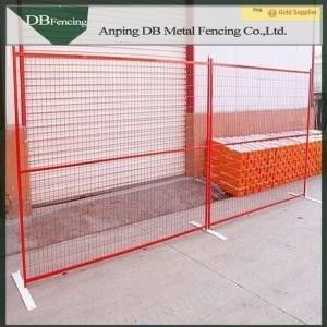 Low Carbon Steel Canada Temporary Fence Panels , Temporary Backyard Fencing