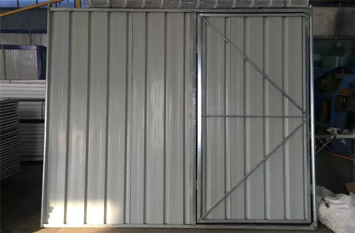 Australian Standard AS 4687-2007 Temporary Hoarding Panels 2.0x2.0m No Damage To Ground