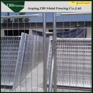 China Galvanized Temporary Site Fence Panels Removable Australian Standard factory