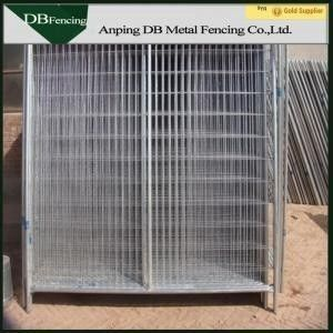 China Australian Standards Temporary Security Fence Panels Hot Dipped Galvanized factory