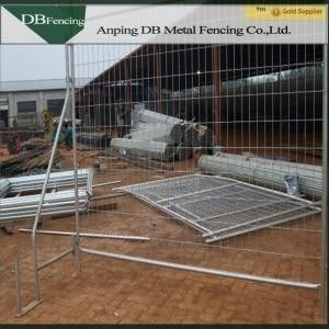 China Anti Climb Outdoor Australian Temporary Fencing / Temporary Metal Fence Panels factory