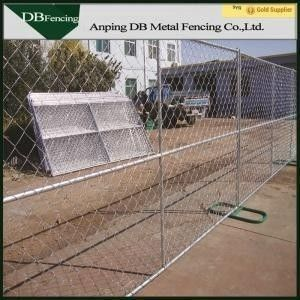 China Steel Temporary Site Fence Panels , Chain Link Mesh Fence For Garden / Farm factory