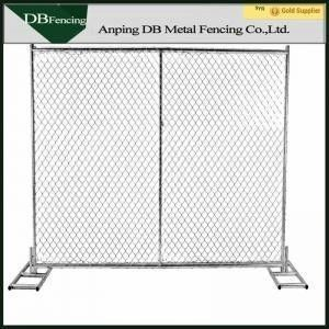 China Heavy Duty 6'X12' Chain Link Temporary Fence For Playground / Residential factory