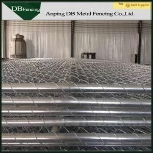 Portable Chain Link Temporary Fencing Panels 6'X10' Removable Easy Installation