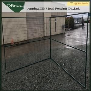 6'X10' Powder Coated Portable Temporary Barrier Fence For Events Canada Standard