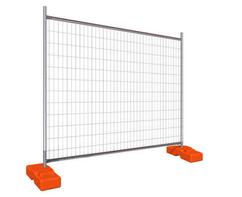 Removeable Construction Galvanized Temporary Fence , Australian Standards Fencing