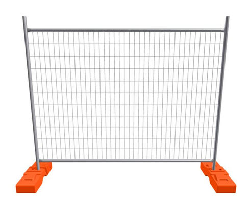 China 2400mm Width Construction Site Fencing Outdoor Mobile Temporary Security Fencing factory