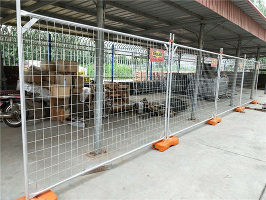 China 60x150mm Australian Temporary Fencing Galvanized Portable Building Site Fencing factory