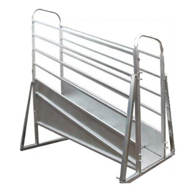 China Adjustable Mobile Cattle Loading Ramp , Portable Livestock Loading Ramps factory
