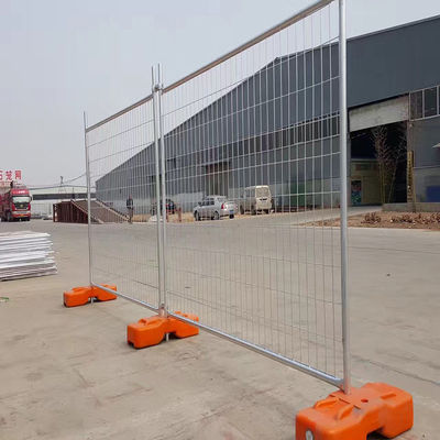 China Galvanised Australian Temporary Fencing , Residential Temporary Construction Fence factory