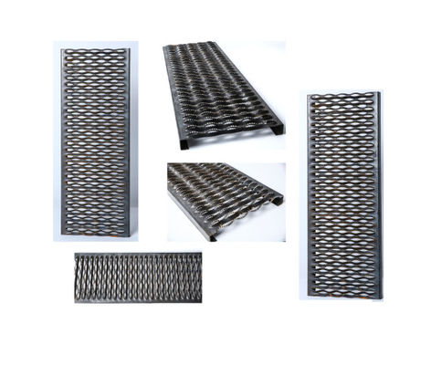 ISO Non Slip Grip Strut Grating Walkway For Work Platforms , Catwalks