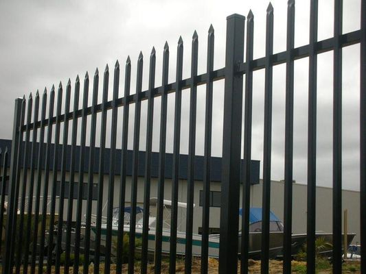 Anti Oxidation Pre Galvanized 25*25mm Tubular Steel Fence
