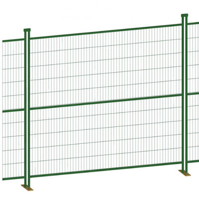 Opening 50*100mm 4.0mm Wire Canada Temporary Fence