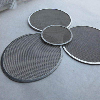 Acid Resistant 10mm 20 Micron Metal Filter Screen