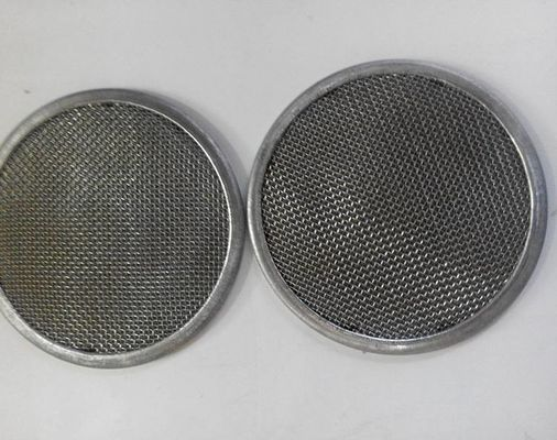 Stainless Steel 10 Micron Round Disc Wire Mesh Filter