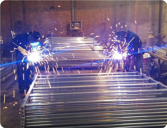 corral panels welding processing