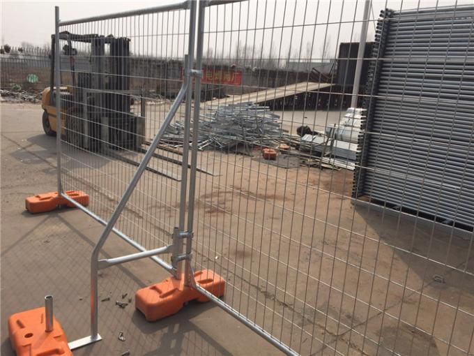 Temporary Fence Panel With Clamps