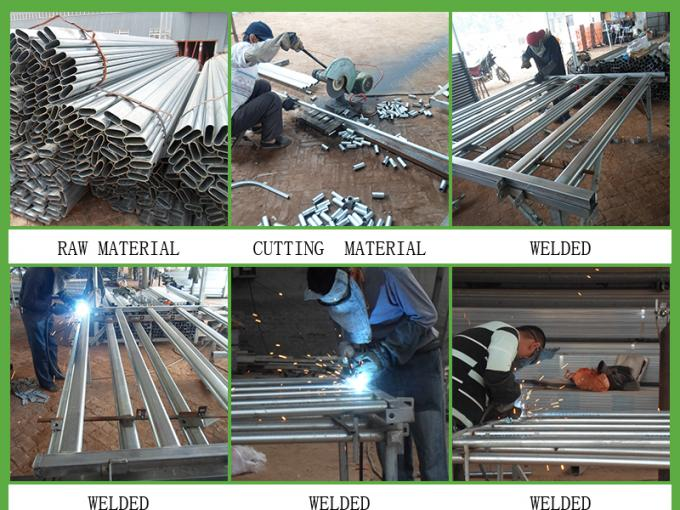 cattle panesl fence cutting, welding, galvanziing processing