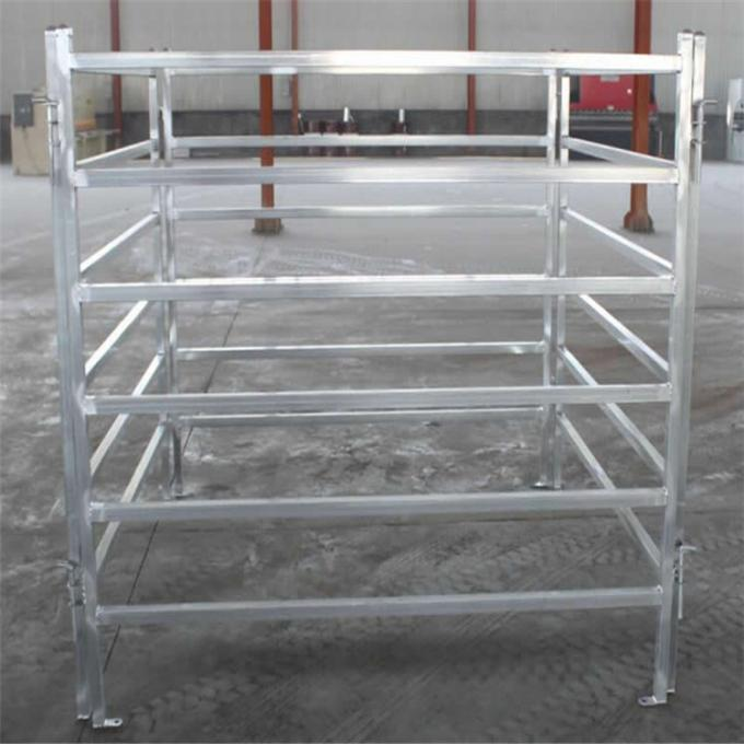 Portable Galvanized Livestock Corral Fence Panels , Goat Corral Panels