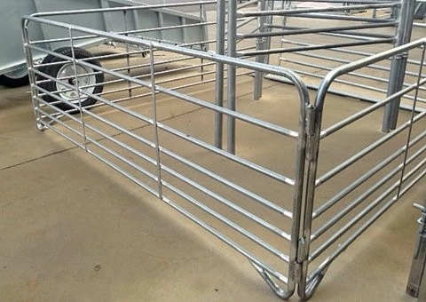 Round Tube Horse Fence Panels Popular for Horse