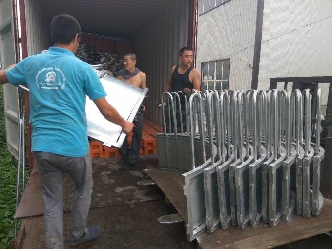 Hot-dipped galvanized Cattle hay feeder
