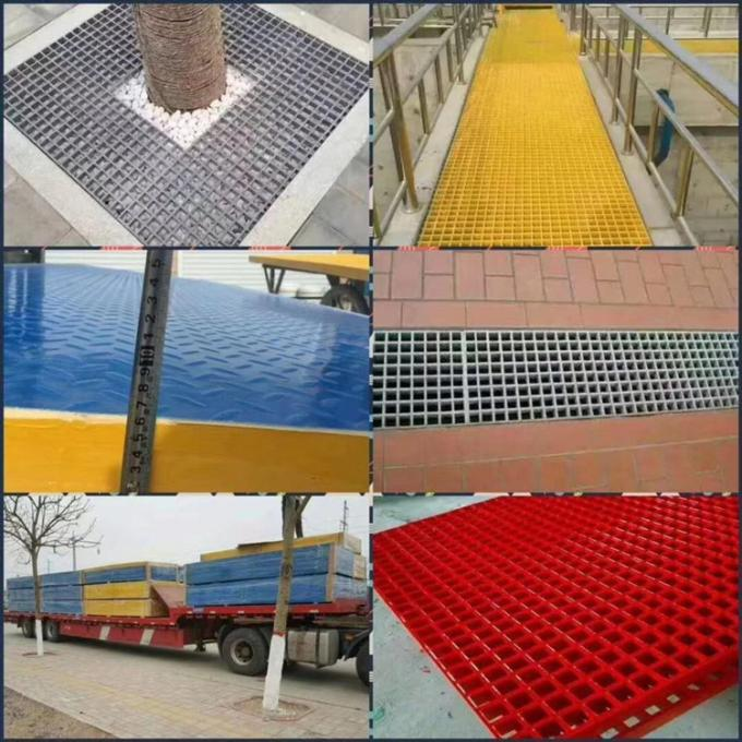 Fiberglass Grating For Sale application