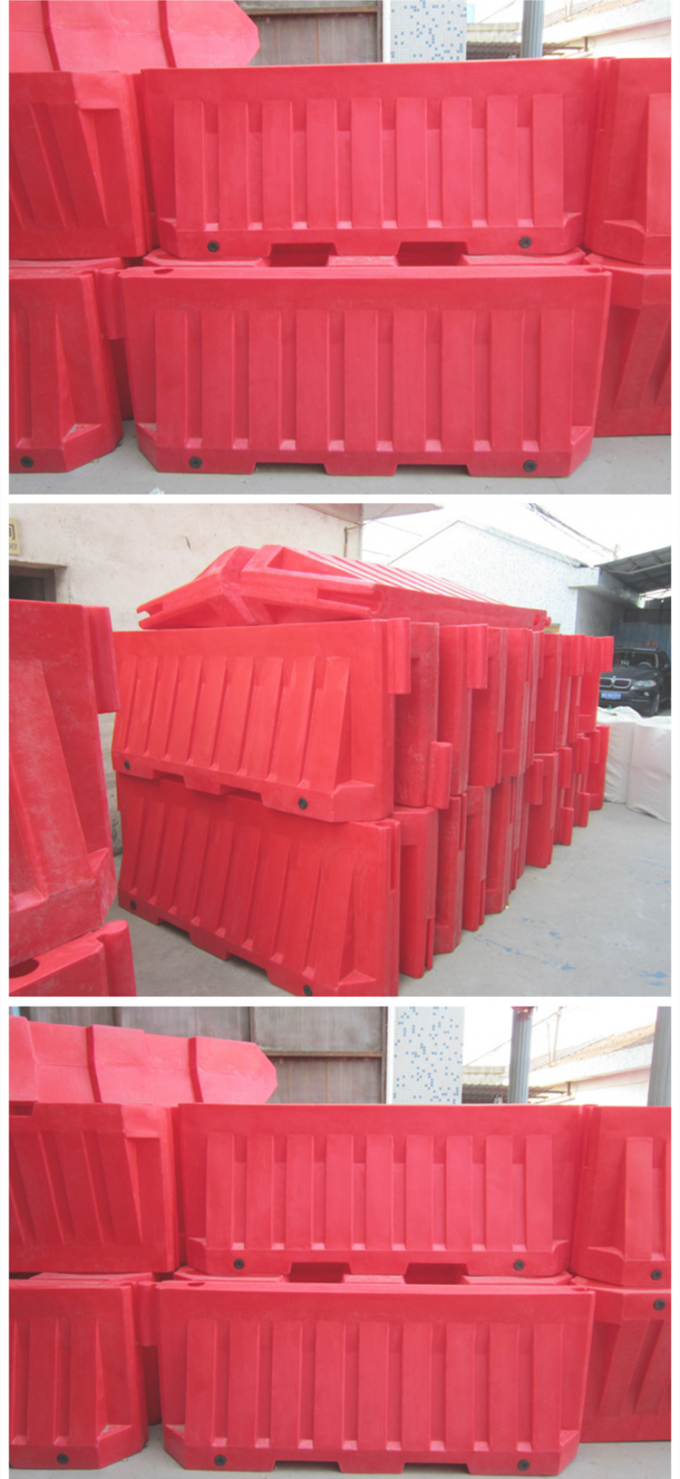 2m Blowing Or Roadway Safety Water Filled Crash Barriers