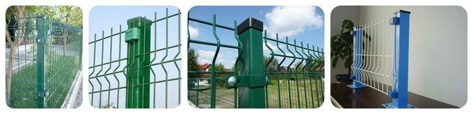 Weatherproof Steel Wire Welded Wire Fence For Residential Building / Sports Field